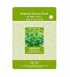 Маска тканевая для лица Полынь Mugwort Essence Mask 23гр