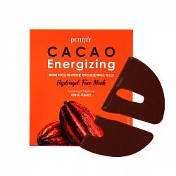 Гидрогелевая маска для лица с экстрактом какао Cacao Energizing Hydrogel Face Mask