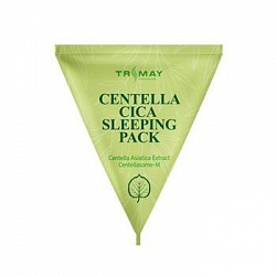 Ночная маска для лица с центеллой TRIMAY Centella Cica Sleeping Pack, 3 гр