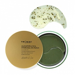 Патчи с маслом крокодила TRIMAY Alligator&CICA Hydrogel Eye Patch, 60 шт
