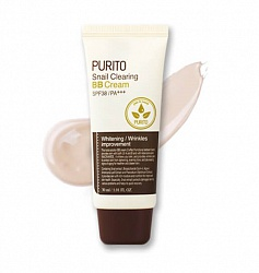 ББ крем PURITO Snail Clearing BB cream 21 Light Beige, 30 мл