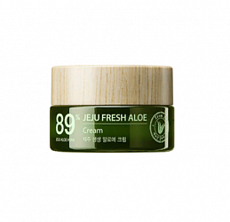 Крем для лица с алоэ Jeju Fresh Aloe Cream, 50 мл