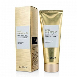 Пенка для умывания  Snail Essential EX Wrinkle Solution Deep Cleansing Foam 150гр