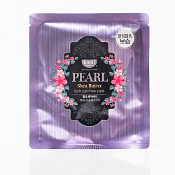 Маска для лица гидрогелевая с маслом ши  koelf PEARL Shea Butter hydrogel mask pack 30гр