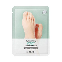 Маска для ног PURE NATURAL Foot Treatment Mask 8гр*2
