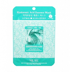 Маска тканевая для лица Гиалуроновая кислота Hyaluronic Acid Essence Mask 23гр