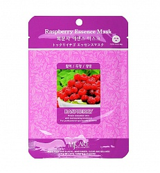 Маска тканевая для лица Малина Raspberry Essence Mask 23гр