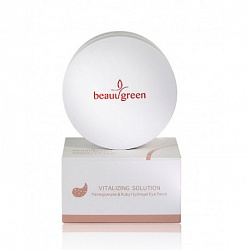 Гидрогелевые патчи BeauuGreen Hydrogel Eye Patch Pomegranate & Ruby, 60 шт