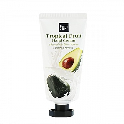 Крем для рук FarmStay Tropical Fruit Hand Cream Avocado, 50 мл