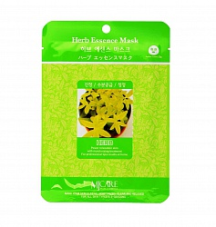 Маска тканевая для лица Экстракты трав Herb Essence Mask 23гр