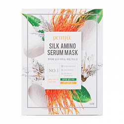 Маска для лица тканевая с протеинами шелка Silk Amino Serum Mask