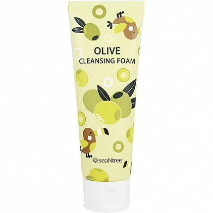 Пенка c оливой Olive Cleansing Foam от SeaNtree, 120 мл